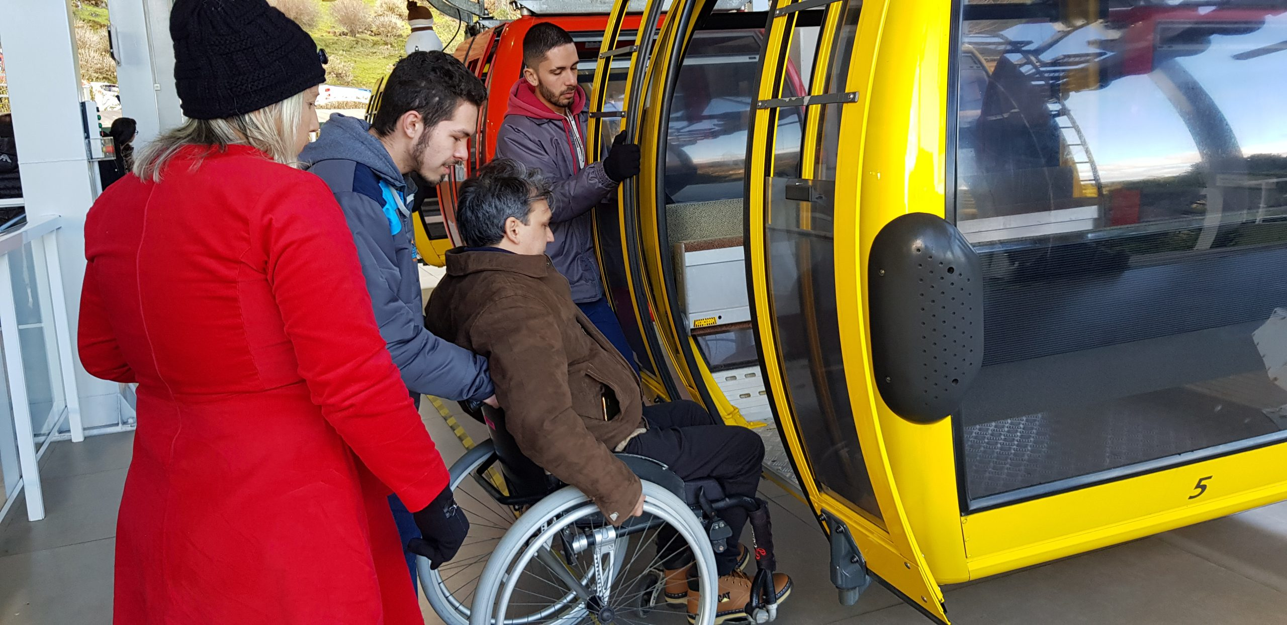 Parques da Serra Bondinhos Aéreos conta com total acessibilidade
