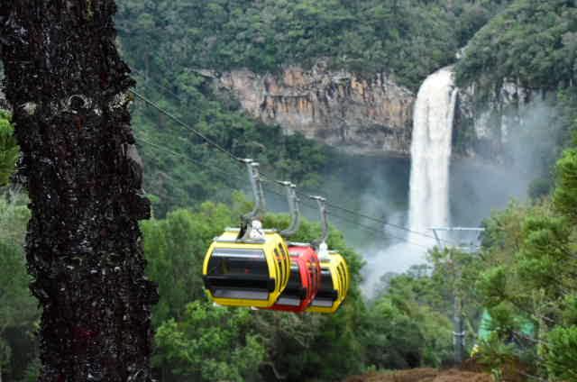 Cascata do Caracol: uma das mais belas paisagens do Brasil