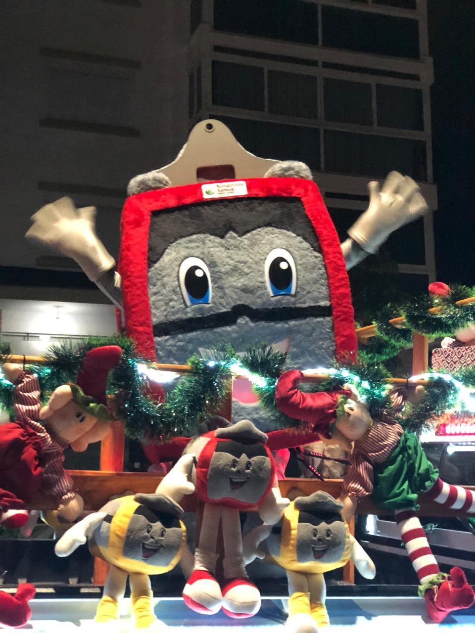 Bondinhos Aéreos na Paradinha de Natal em Canela