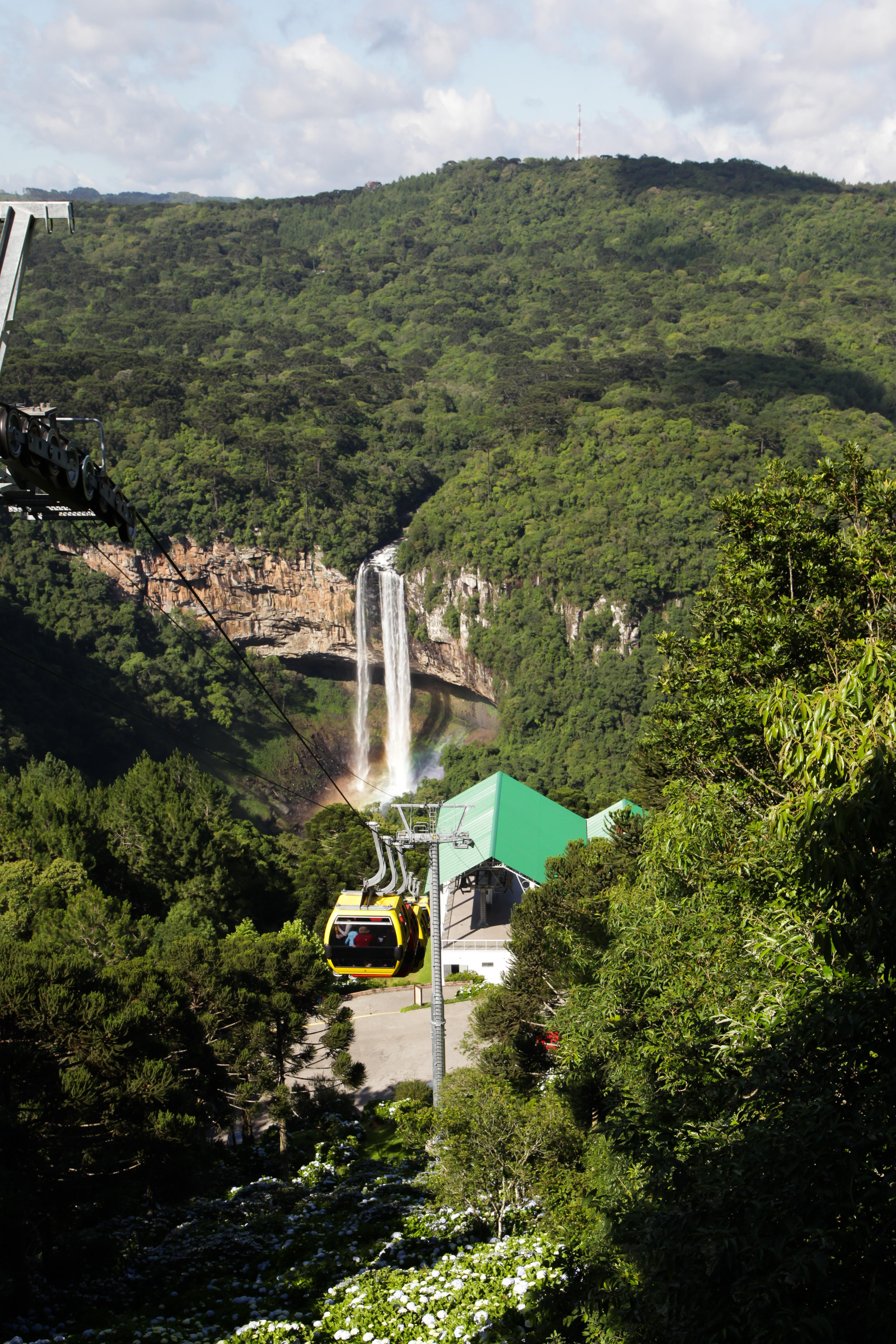 Bondinhos Aéreos oferece diversas atrações aos visitantes