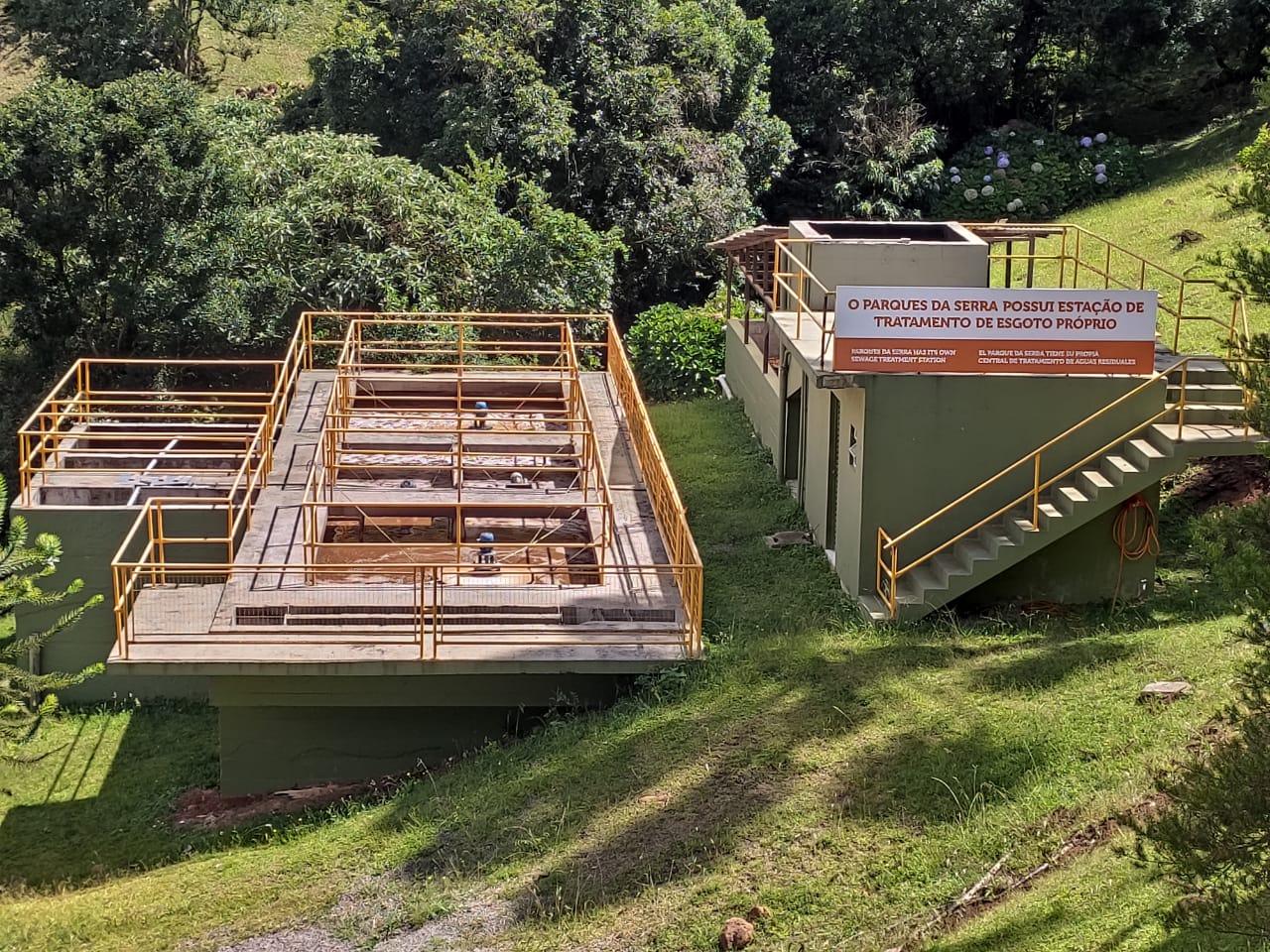 Tratamento de água é prioridade no Parques da Serra Bondinhos Aéreos